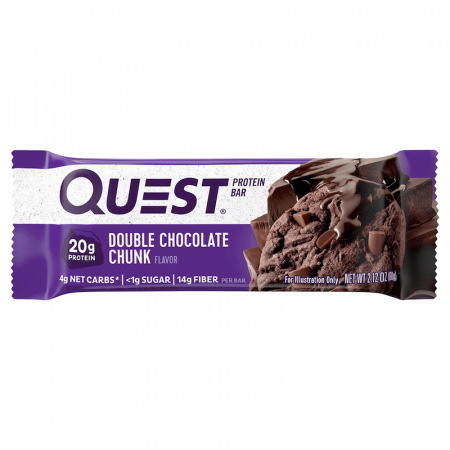 كوست نيوترشن، بروتين بار دبل شوكولاتة تشانك 60غ