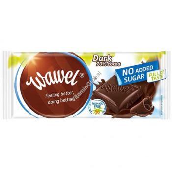 واول، شوكولاتة داكنة 70٪ بدون سكّر مضاف 100غ