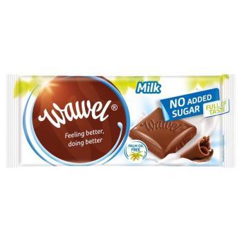 واول، شوكولاتة حليب بدون سكّر مضاف 100غ