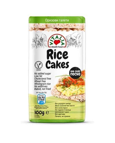 فيتاليا، رقائق الأرز 100غ