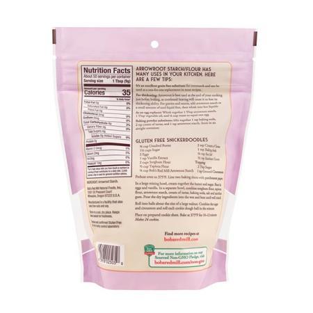 ريد مل، نشا الأروروث الخالي من الجلوتين 454غ
