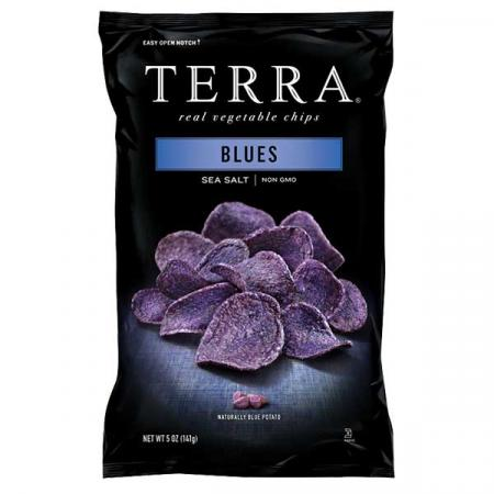 تيرا، شيبس خضار أزرق 110غ