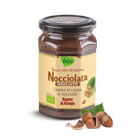 نوشولاتة، شوكولاتة دهن مع  بندق عضوي - خالي من منتجات الألبان 270غ