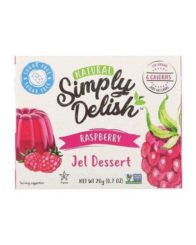 سمبلي ديليش، حلوى الجيلي الطبيعية، توت العليق، خالي من السكر 20غ