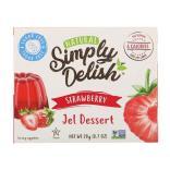 سمبلي ديليش، حلوى الجيلي الطبيعية، فراولة، خالي من السكر 20غ