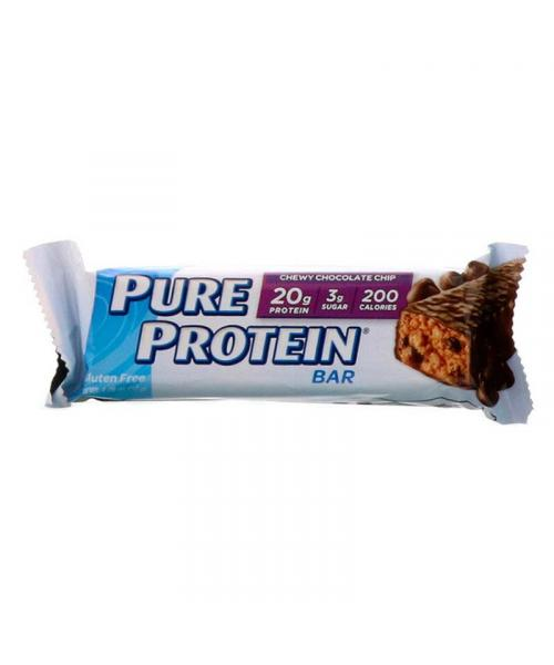 بيور بروتين، بار رقائق الشوكولاتة الطرية 50غ