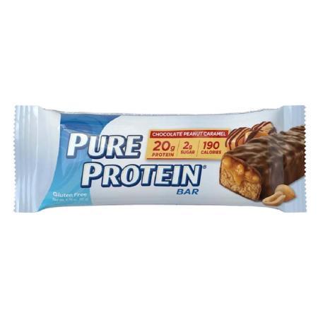 بيور بروتين، بار الشوكولاتة بالفستق والكاراميل 50غ