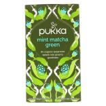 بوكا هيربز، شاي أخضر ماتشا بالنعناع، 20 كيس 30غ