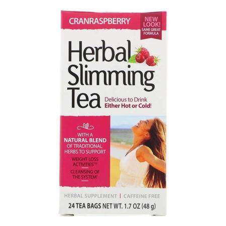 شاي الأعشاب للتخسيس بالتوت البري 24 كيس 48 جم