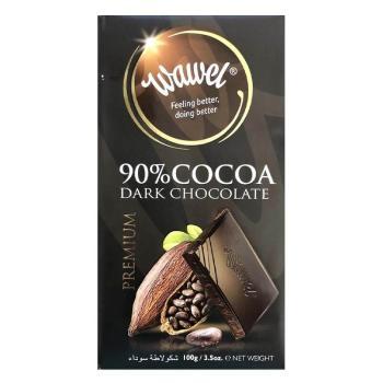 واول، شوكولاتة داكنة 90٪ 100غ