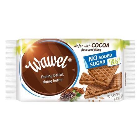 واول، ويفر شوكولاتة بدون سكر مضاف 110غ