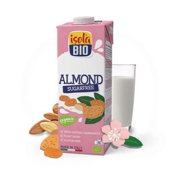 ازولا، حليب اللوز بدون سكر 1لتر