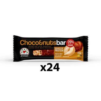 فيتاليا، بار الشوكولاتة الداكنة والبندق 35غ - 24 قطعة