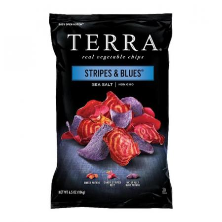 تيرا، شيبس خضار أزرق وأحمر 110غ