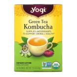 يوغي تي، شاي أخضر كومبوتشا، 16 كيس