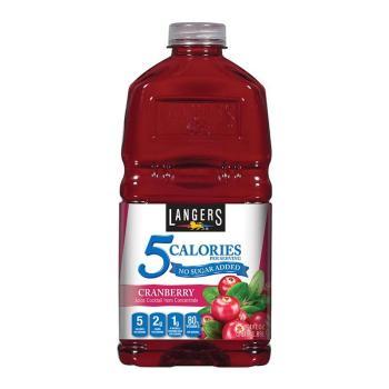لانجيرز، عصير كرانبيري بدون سكر مضاف 1.89ل
