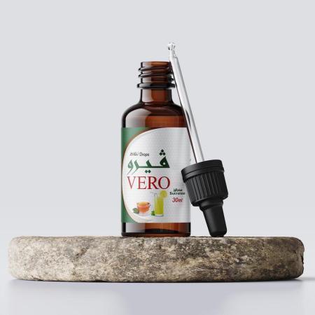 ڤيرو، قطرة، مُحلّي خالي من السعرات الحرارية 30مل