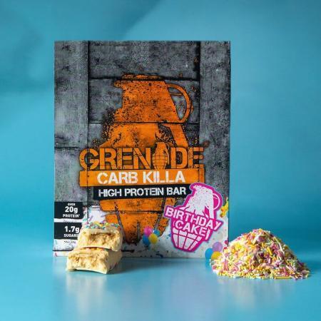 جرينيد، بروتين بار كعكة العيد 60غ - 12 قطعة