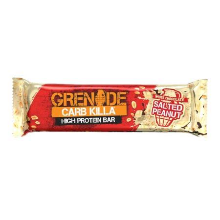 جرينيد، بروتين بار شوكولاتة بيضاء مع فستق مالح 60غ