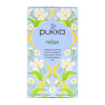 بوكا هيربز، شاي الارتياح العضوي - 20 كيس 40غ