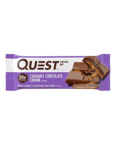 كويست نيوترشن، بروتين بار شوكولاتة بالكراميل 60غ