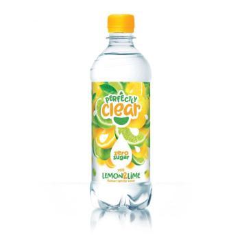 برفكتلي كلير، مياه معدنية بطعم الليمون، صفر سكر 500مل