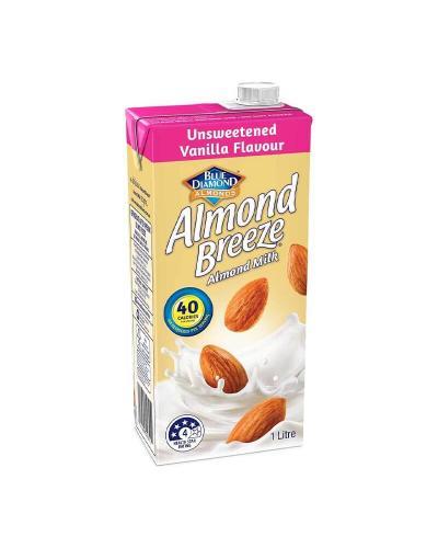 ألموند بريز، حليب لوز غير محلى بطعم الفانيلا 1لتر