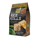 رايس اب، أقراص الأرز بالجبنة والسبانخ وزيت الزيتون 50غ