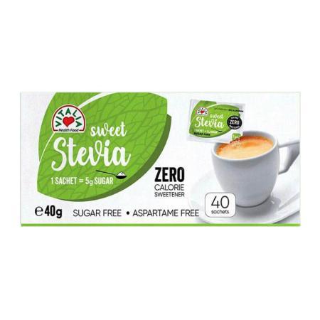فيتاليا، مُحلّي ستيفيا خالي السعرات الحراريّة 40 كيس