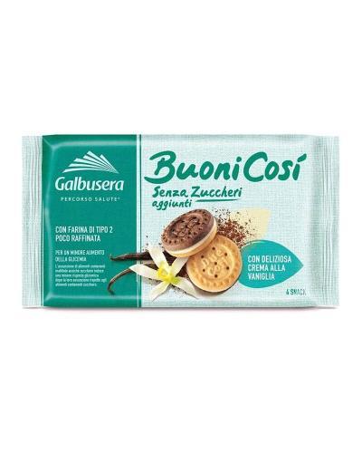 غالبوسيرا، بسكويت ساندويش مع كريمة الفانيلا بدون سكر مضاف 160غ