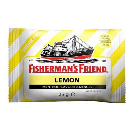 فشرمان فرند، ملبس منثول قوي بطعم الليمون 25غ