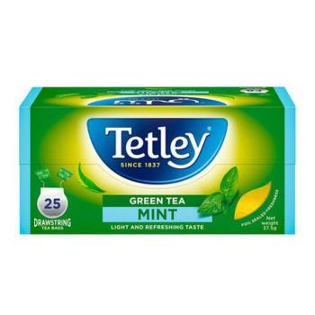 تتلي، شاي أخضر بالنعناع 25 كيس