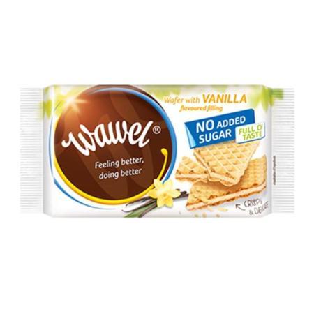 واول، ويفر فانيلا بدون سكر مضاف 110غ