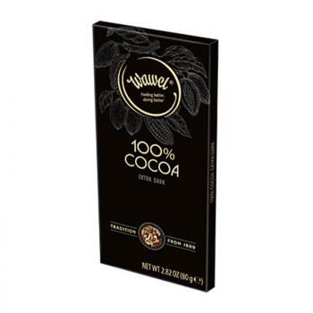 واول، شوكولاتة داكنة 100٪ كاكاو 80غ