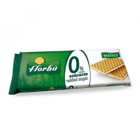 فلوربو، ويفر بطعم جوز الهند بدون سكر مضاف 160غ