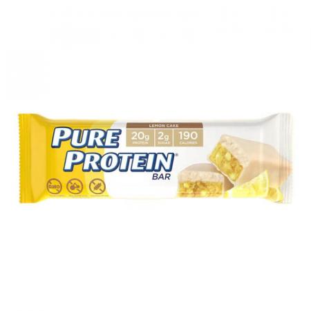 بيور بروتين، بار كعكة الليمون 50غ