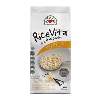 فيتاليا، مسحوق حليب الأرز مع الفانيلا 300غ