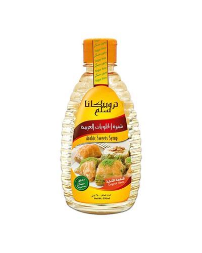 تروبيكانا سلم، شيرة الحلويات العربية بدون سكر 350مل