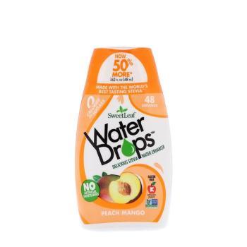 سويت ليف، قطرات محلية ومنكهة للماء، طعم الخوخ والمانجا 48مل