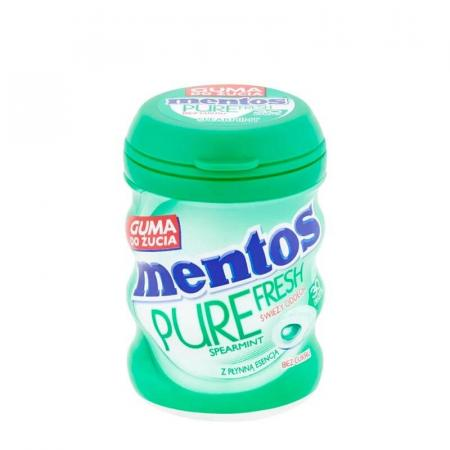 منتوس، علكة خالية من السكر بطعم النعنع 60غ