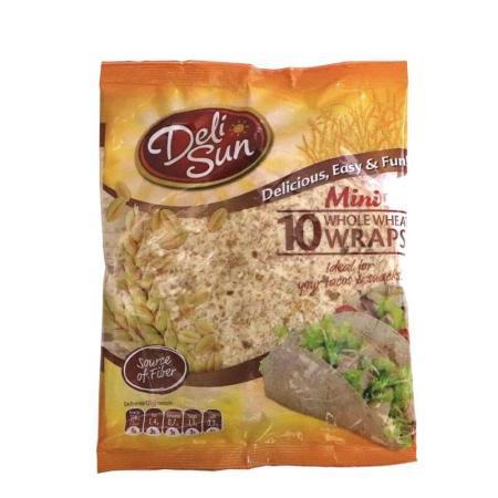 ديلي صن، خبز تورتيلا صغير بدقيق القمح الكامل 250غ