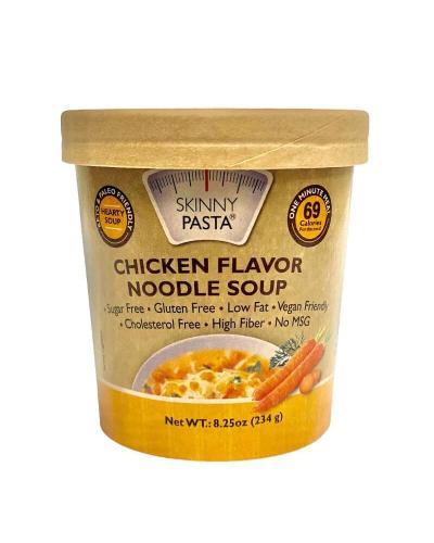سكيني باستا، شوربة نودلز كونجاك بنكهة الدجاج 234غ