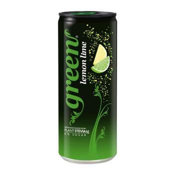 جرين كولا، مشروب غازي قليل السعرات الحرارية بطعم اليمون الحامض 330مل