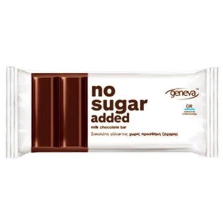 جينيفا، شوكولاتة بدون سكّر مضاف - حليب 32غ