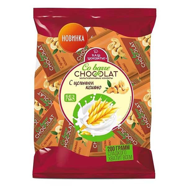 كو بار، حلوى متعددة الحبوب مع الكاشو 200غ