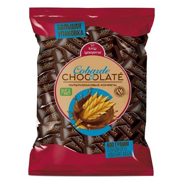 كو بار، حلوى متعددة الحبوب مع شوكولاتة داكنة 200غ