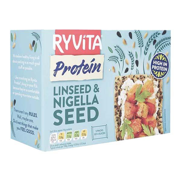 رايڤيتا، رقائق عالية البروتين بالكتان وحبة البركة 200غ