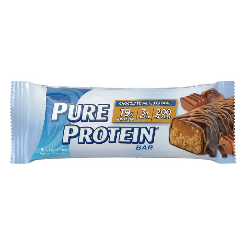 بيور بروتين، بار الشوكولاتة بالكاراميل المملح 50غ
