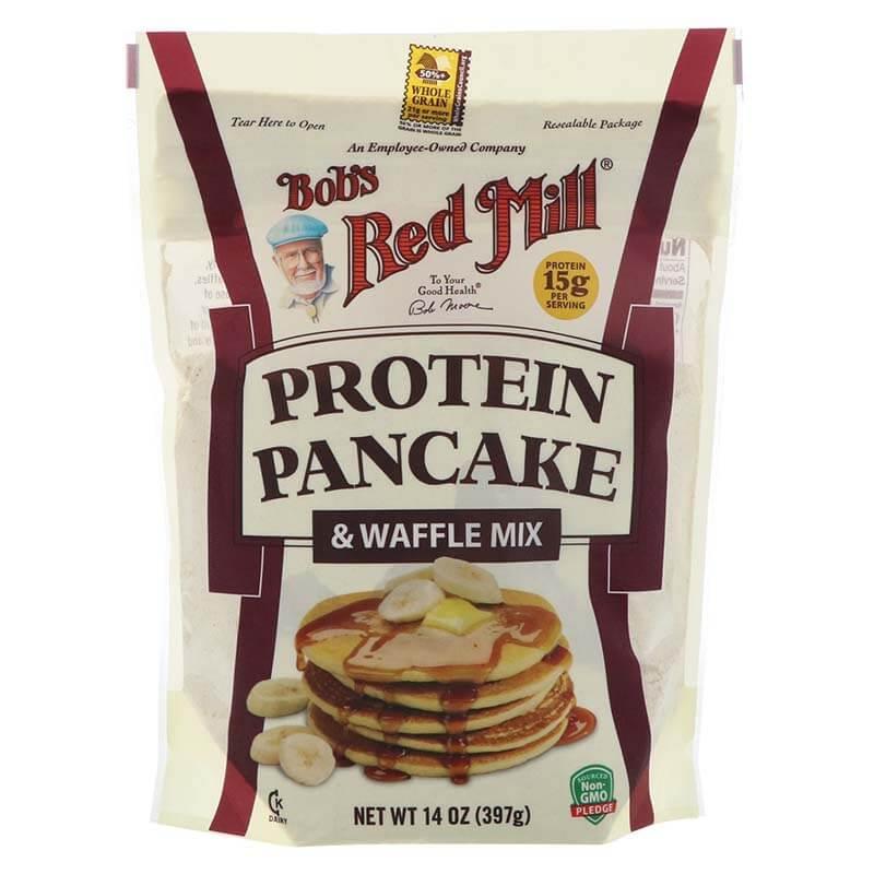 ريد مل، خليط البانكيك والوافيل عالي البروتين 397غ